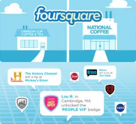 Marcas y negocios en Foursquare