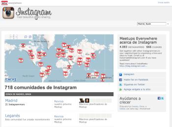meetups de instagram en el mundo