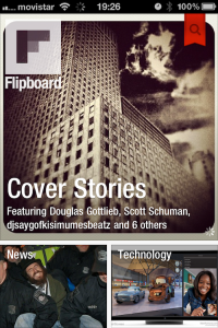 portada de flipboard con los titulares