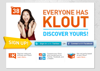everyone has klout